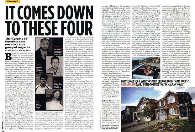 Article Preview: IT COMES DOWN TO THESE FOUR, JUN. 9th 2008 2008 | Maclean's