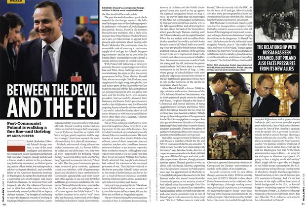 Article Preview: BETWEEN THE DEVIL AND THE EU, JUN. 9th 2008 2008 | Maclean's