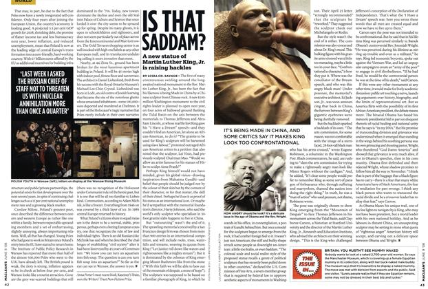 Article Preview: IS THAT SADDAM?, JUN. 9th 2008 2008 | Maclean's