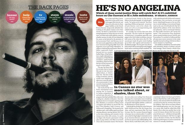 Article Preview: HE'S NO ANGELINA, JUN. 9th 2008 2008 | Maclean's