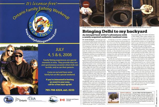Article Preview: Bringing Delhi to my backyard, JUN. 9th 2008 2008 | Maclean's