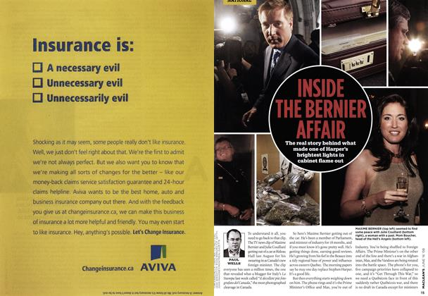 Article Preview: INSIDE THE BERNIER AFFAIR, June 2008 | Maclean's