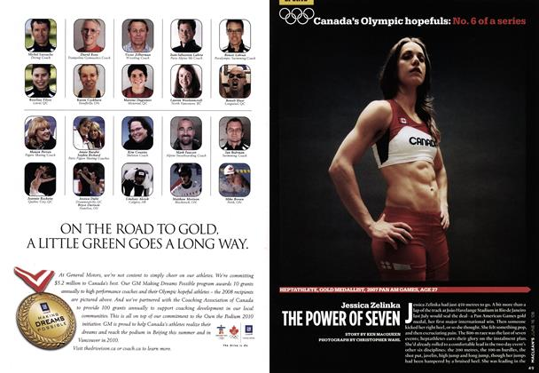 Article Preview: Jessica Zelinka THE POWER OF SEVEN, June 2008 | Maclean's