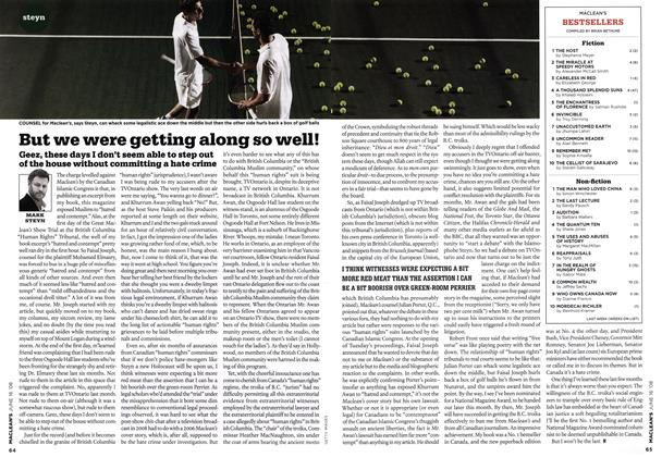 Article Preview: But we were getting along so well!, June 2008 | Maclean's