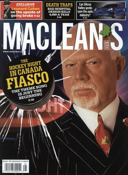 Issue: - JUNE 23rd 2008 | Maclean's