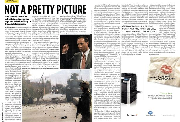 Article Preview: NOT A PRETTY PICTURE, JUNE 23rd 2008 2008 | Maclean's