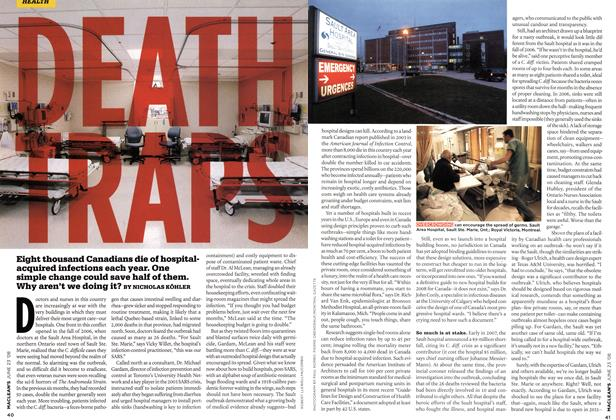 Article Preview: DEATH TRAPS, JUNE 23rd 2008 2008 | Maclean's