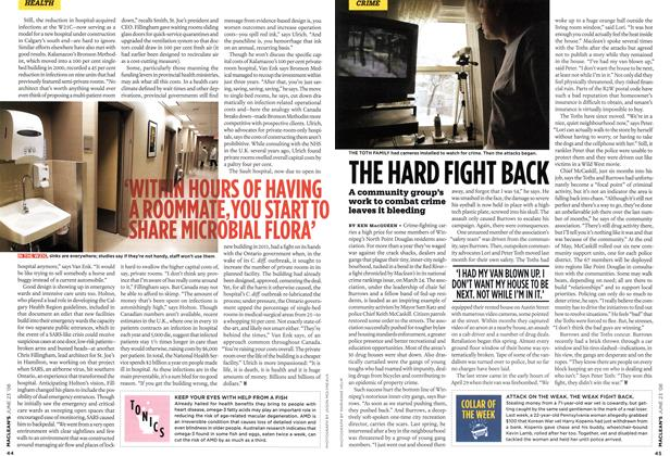Article Preview: THE HARD FIGHT BACK, JUNE 23rd 2008 2008 | Maclean's