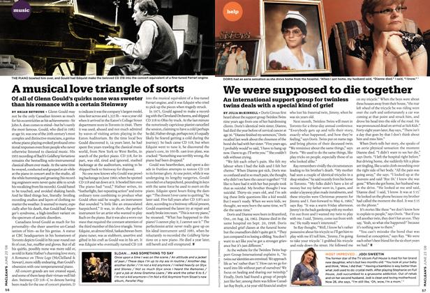 Article Preview: A musical love triangle of sorts, JUNE 23rd 2008 2008 | Maclean's