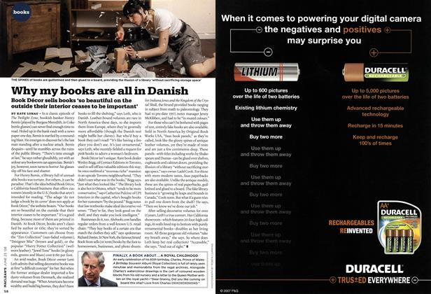 Article Preview: Why my books are all in Danish, JUNE 23rd 2008 2008 | Maclean's