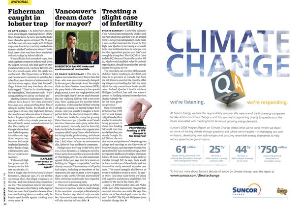 Article Preview: Fisherman caught in lobster trap, JUNE 30th 2008 2008 | Maclean's