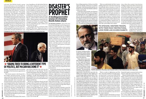 Article Preview: DISASTER'S PROPHET, JUNE 30th 2008 2008 | Maclean's