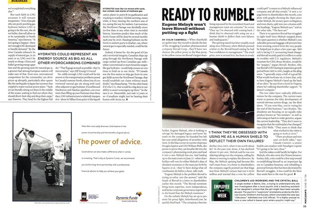 Article Preview: READY TO RUMBLE, JUNE 30th 2008 2008 | Maclean's