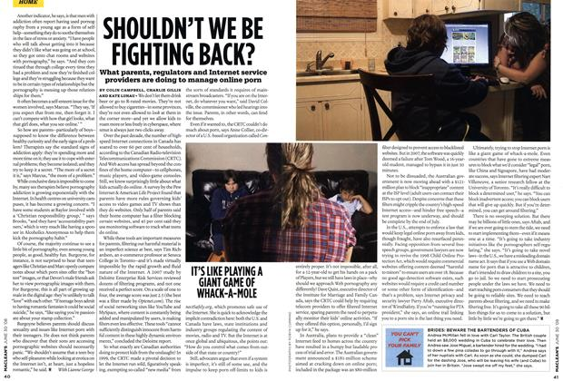 Article Preview: SHOULDN'T WE BE FIGHTING BACK?, JUNE 30th 2008 2008 | Maclean's