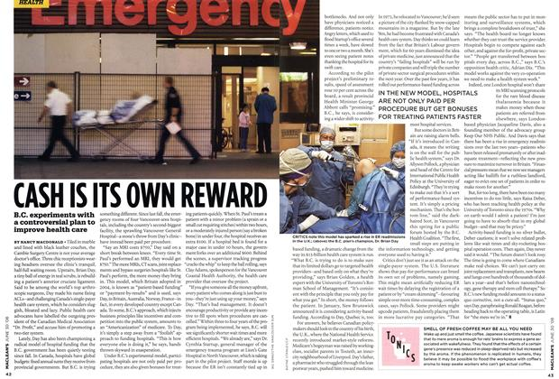 Article Preview: CASH IS ITS OWN REWARD, JUNE 30th 2008 2008 | Maclean's
