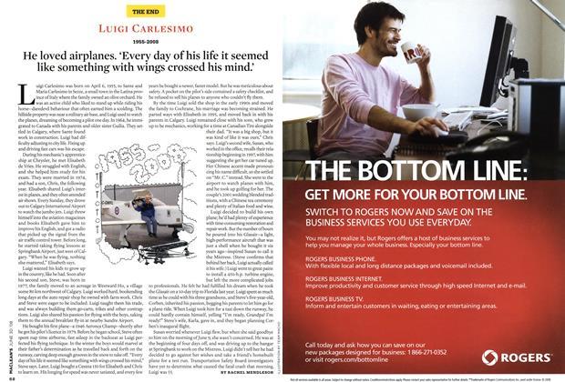 Article Preview: LUIGI CARLESIMO, JUNE 30th 2008 2008 | Maclean's