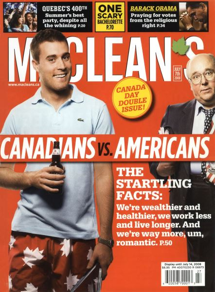 Issue: - JULY 7th 2008 | Maclean's