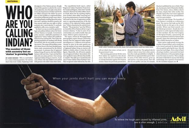 Article Preview: WHO ARE YOU CALLING INDIAN?, JULY 7th 2008 2008 | Maclean's