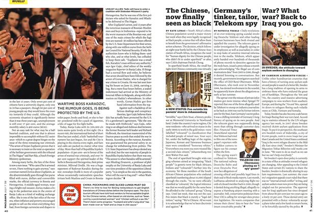 Article Preview: Germany's tinker, tailor, Telekom spy, JULY 7th 2008 2008 | Maclean's