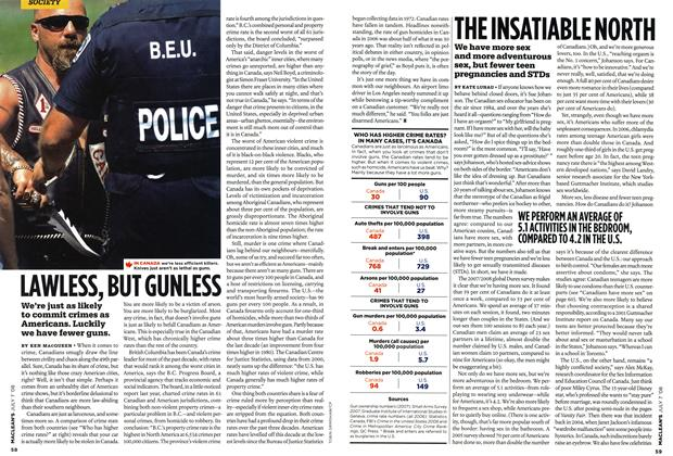 Article Preview: LAWLESS, BUT GUNLESS, JULY 7th 2008 2008 | Maclean's