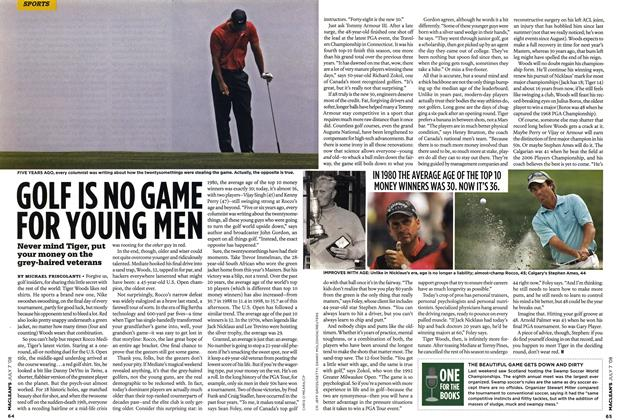 Article Preview: GOLF IS NO GAME FOR YOUNG MEN, JULY 7th 2008 2008 | Maclean's