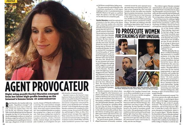 Article Preview: AGENT PROVOCATEUR, JULY 7th 2008 2008 | Maclean's