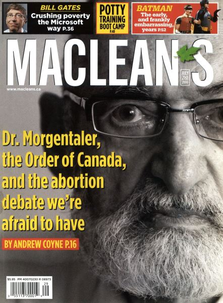 Issue: - JULY 21st 2008 | Maclean's