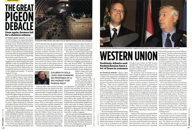 Article Preview: THEGREAT PIGEON DEBACLE, JULY 21st 2008 2008 | Maclean's
