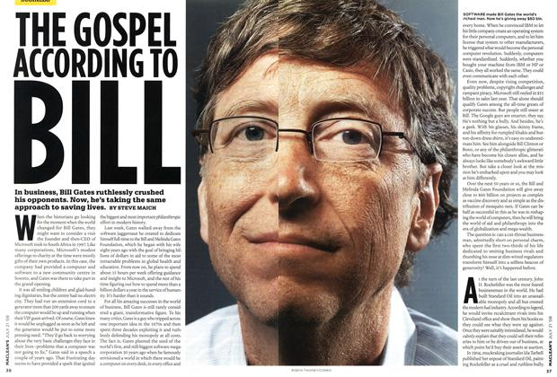 Article Preview: THE GOSPEL ACCORDING TO BILL, JULY 21st 2008 2008 | Maclean's