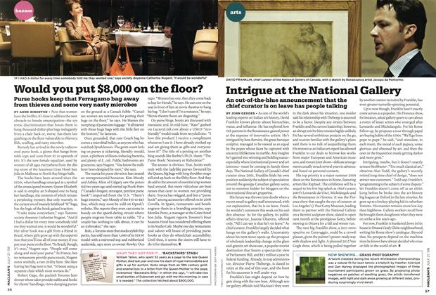 Article Preview: Intrigue at the National Gallery, JULY 21st 2008 2008 | Maclean's