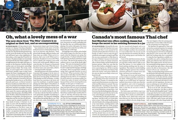 Article Preview: Canada's most famous Thai chef, JULY 21st 2008 2008 | Maclean's