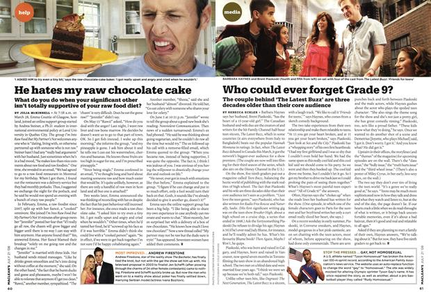 Article Preview: Who could ever forget Grade 9?, JULY 21st 2008 2008 | Maclean's