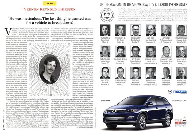 Article Preview: VERNON REYNOLD THIESSEN 1969-2008, JULY 21st 2008 2008   Maclean's