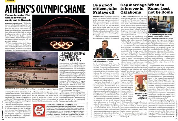 Article Preview: Gay marriage is forever in Oklahoma, JULY 28th 2008 2008 | Maclean's