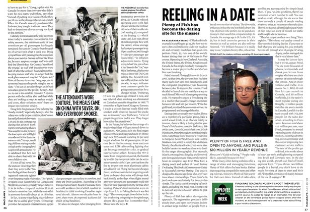 Article Preview: REELING IN A DATE, JULY 28th 2008 2008 | Maclean's