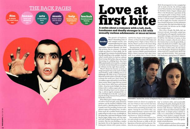 Article Preview: Love at first bite, JULY 28th 2008 2008 | Maclean's