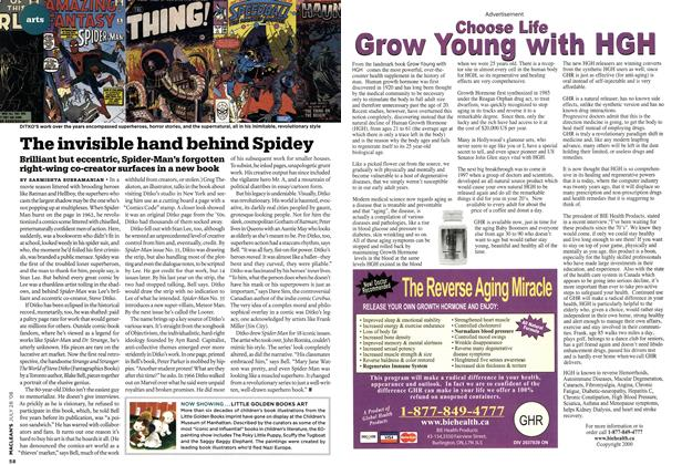 Article Preview: The invisible hand behind Spidey, JULY 28th 2008 2008 | Maclean's