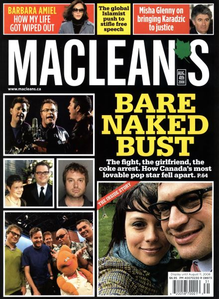Issue: - AUG. 4th 2008 | Maclean's