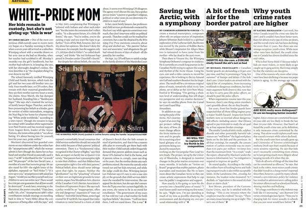 Article Preview: WHITE-PRIDE NON, AUG. 4th 2008 2008 | Maclean's