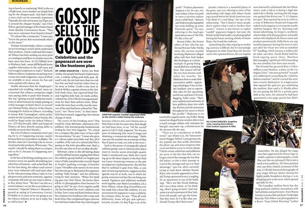 Article Preview: GOSSIP SELLS THE GOODS, AUG. 4th 2008 2008 | Maclean's