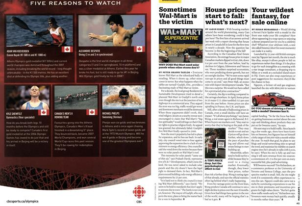 Article Preview: House prices start to fall: what's next?, AUG. 4th 2008 2008 | Maclean's