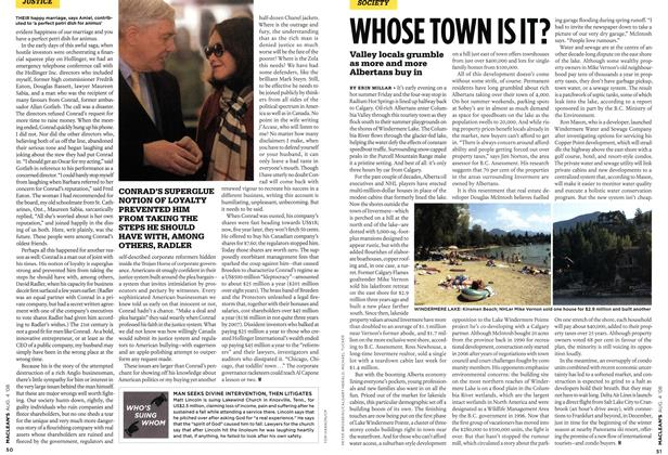 Article Preview: WHOSE TOWN IS IT?, AUG. 4th 2008 2008 | Maclean's