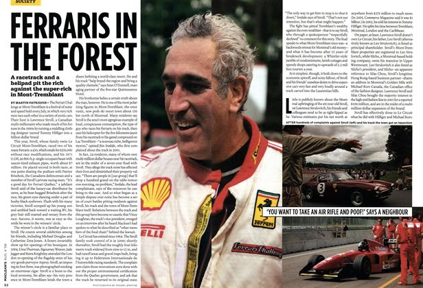 Article Preview: FERRARIS IN THE FOREST, AUG. 4th 2008 2008 | Maclean's