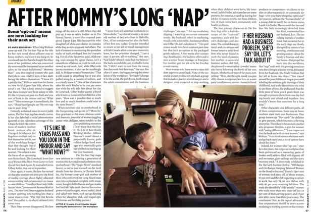 Article Preview: AFTER MOMMY'S LONG 'NAP', AUG. 4th 2008 2008 | Maclean's