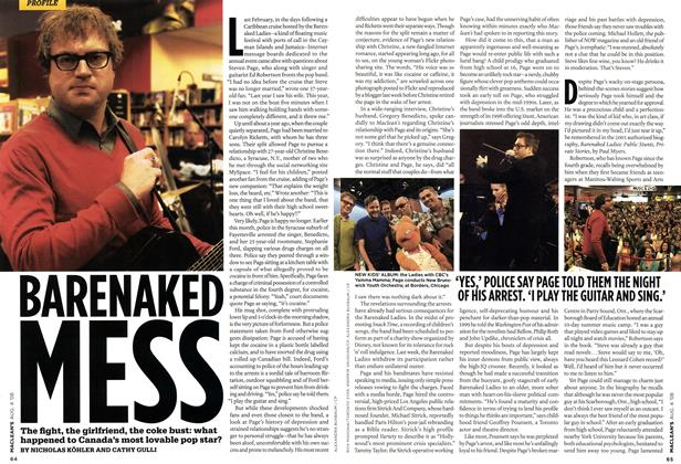Article Preview: BARENAKED MESS, AUG. 4th 2008 2008 | Maclean's