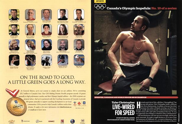Article Preview: Tyler Christopher LIVE-WIRED FOR SPEED, AUG. 4th 2008 2008 | Maclean's