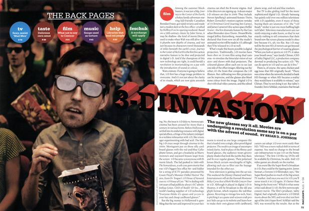 Article Preview: 3-D INVASION, AUG. 4th 2008 2008 | Maclean's