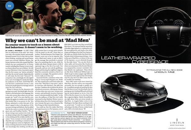 Article Preview: Why we can't be mad at 'Mad Men', AUG. 4th 2008 2008 | Maclean's