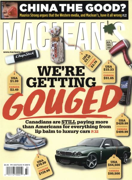 Issue: - AUG. 18th 2008 | Maclean's