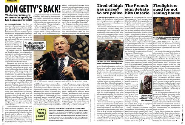 Article Preview: The French sign debate hits Ontario, AUG. 18th 2008 2008 | Maclean's